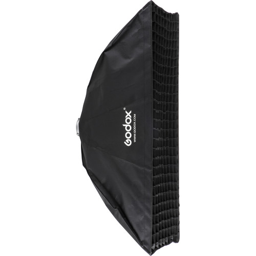 "Godox Softbox with Bowens Mounting, Grid, and Hook-and-Loop Fastener (13.8 x 63.0"")"