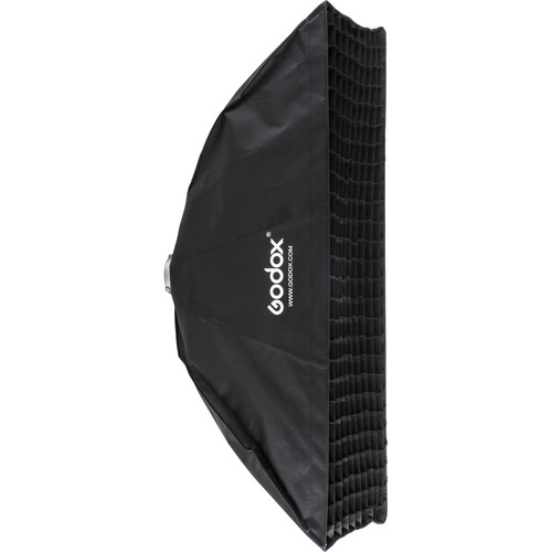 "Godox Softbox with Bowens Speed Ring and Grid (19.7 x 51.2"")"