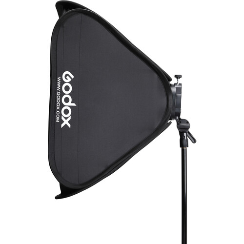 "Godox S2 Bowens Mount Bracket with Softbox & Carrying Bag Kit (31.5 x 31.5"")"