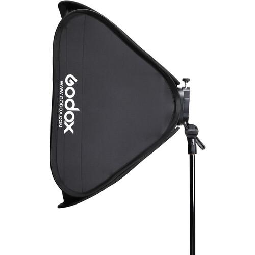 """Godox S2 Speedlite Bracket with Softbox & Carrying Bag Kit (31.5 x 31.5"""")"""