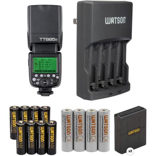 Godox TT685F Thinklite TTL Flash with Accessories Kit for Fujifilm Cameras