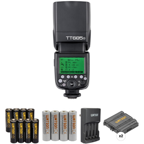 Godox TT685O Thinklite TTL Flash with Accessories Kit for Olympus/Panasonic Cameras