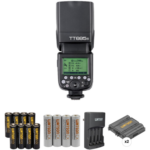 Godox TT685N Thinklite TTL Flash with Accessories Kit for Nikon Cameras