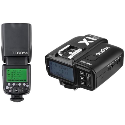 Godox TT685F Thinklite TTL Flash with X1T-F Trigger Kit for Fujifilm Cameras