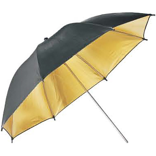 "Godox Reflector Umbrella (33"", Black/Gold)"