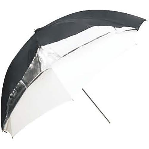 """Godox Dual-Duty Reflective Umbrella (33"""", Black/Silver/White)"""