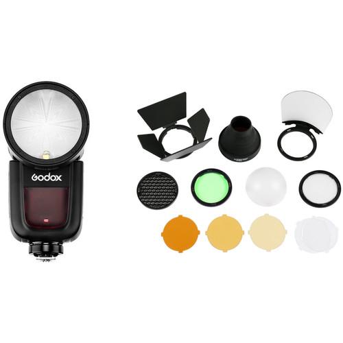 Godox V1 Flash with Accessories Kit for FUJIFILM