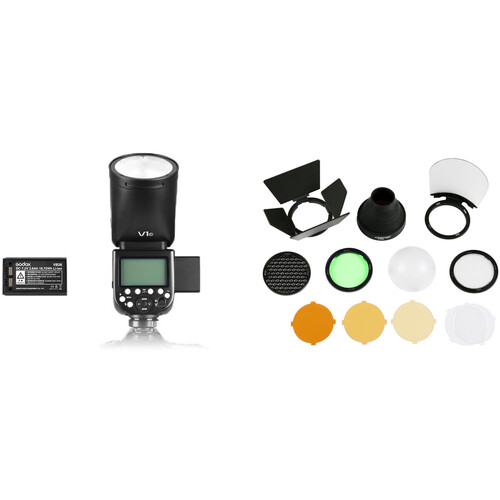 Godox V1 Flash with Accessories Kit for Sony