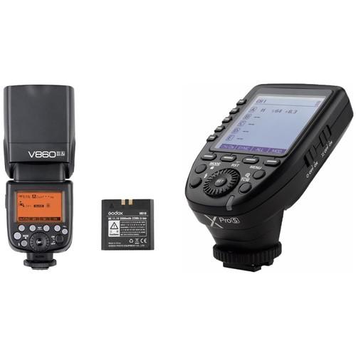 Godox VING V860II TTL Li-Ion Flash with XProS TTL Trigger Kit for Sony Cameras