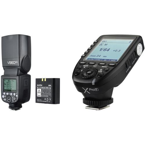 Godox VING V860II TTL Li-Ion Flash with XProF TTL Trigger Kit for FUJIFILM Cameras
