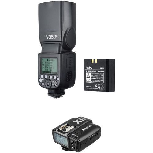 Godox VING V860IIO TTL Li-Ion Flash with X1T-O TTL Trigger Kit for Olympus/Panasonic Cameras