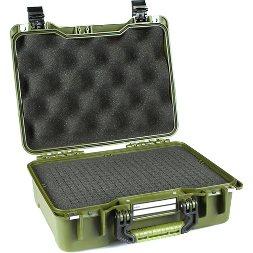 GoGORIL G20 Hard Case with Cubed Foam (Green)
