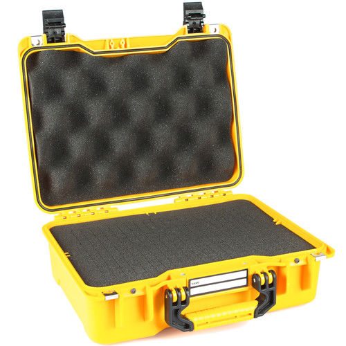 GoGORIL G20 Hard Case with Cubed Foam (Yellow)