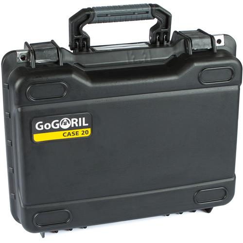 GoGORIL G20 Hard Case with Custom Foam for DJI Mavic 2 Pro (Black)