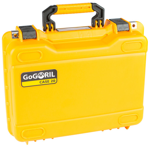 GoGORIL G20 Hard Case with Custom Foam for DJI Mavic 2 Pro (Yellow)