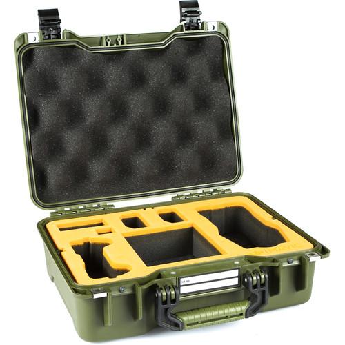 GoGORIL G20 Hardcase with Foam for DJI Mavic Pro (Green)