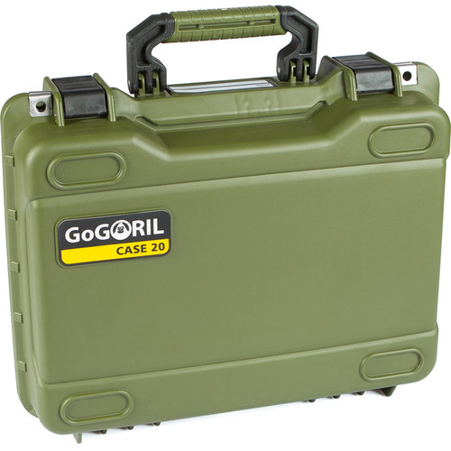 GoGORIL G20 Hard Case (No Foam, Green)