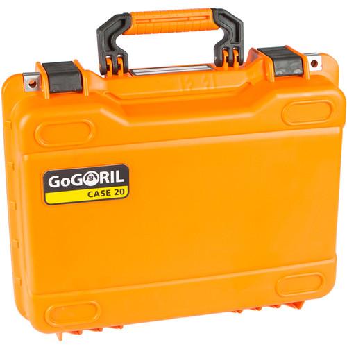 GoGORIL G20 Hard Case (No Foam, Orange)