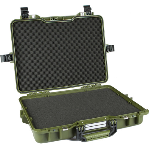 GoGORIL G30 Hard Case with Cubed Foam (Green)