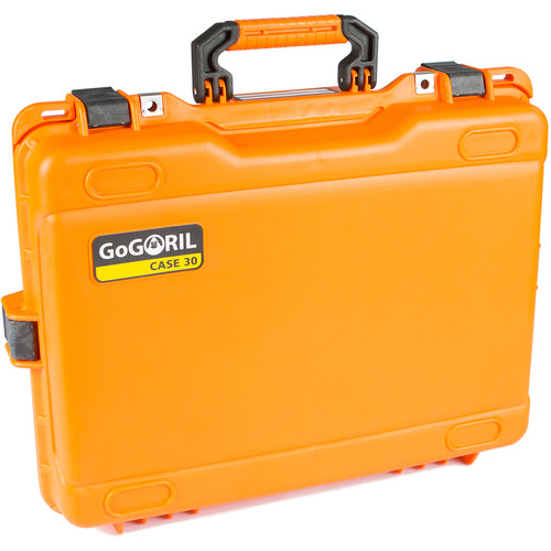 GoGORIL G30 Hard Case with No Foam (Orange)