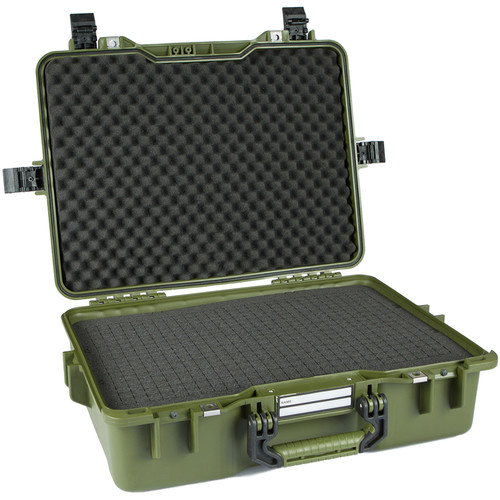 GoGORIL G33 Hard Case with Cubed Foam (Green)