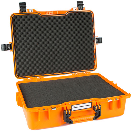 GoGORIL G33 Hard Case with Cubed Foam (Orange)