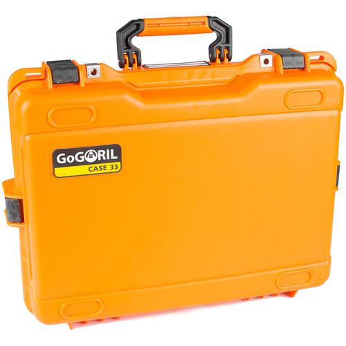 GoGORIL G33 Hard Case (Orange)