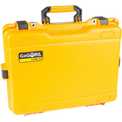 GoGORIL G33 Hard Case (No Foam, Yellow)
