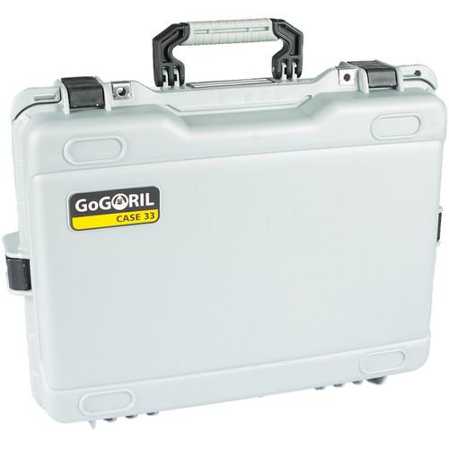 GoGORIL G33 Hard Case for Zhiyun Crane 2 (Silver)