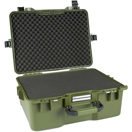 GoGORIL G36 Hard Case with Cubed Foam (Green)