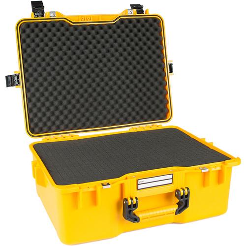 GoGORIL G36 Hard Case for DJI Phantomwith Cubed Foam (Yellow)