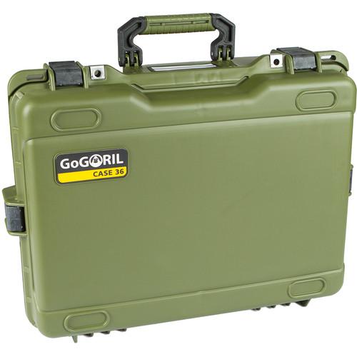 GoGORIL G36 Hard Case for DJI Phantomwith No Foam (Green)