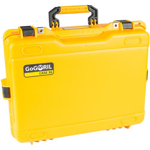 GoGORIL G36 Hard Case for DJI Phantomno Foam (Yellow)