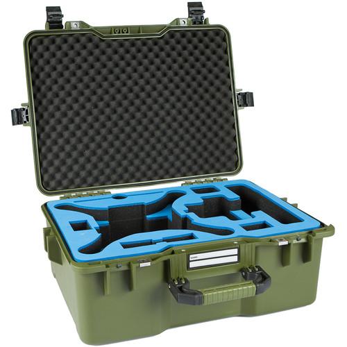 GoGORIL G36 Hardcase with Phantom 4/Pro Foam (Green)
