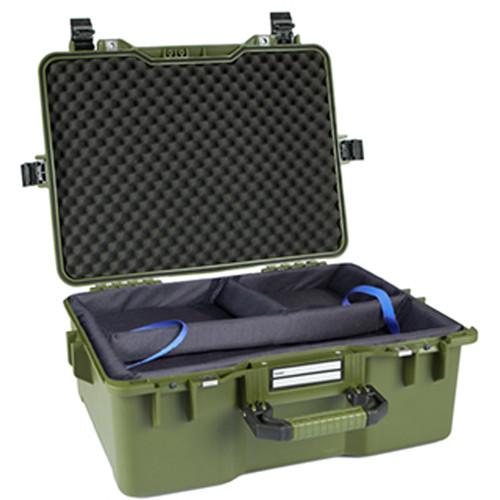 GoGORIL G36 Hard Case with Ronin-M Insert (Green)