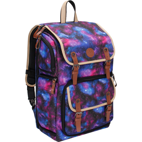 GOgroove DSLR Camera Backpack (Galaxy)