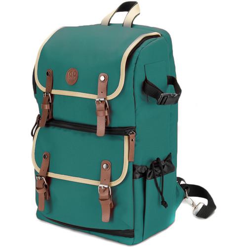 GOgroove DSLR Camera Backpack (Green)