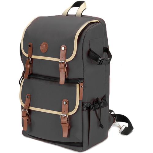 GOgroove DSLR Camera Backpack (Gray)