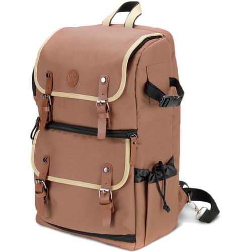 GOgroove DSLR Camera Backpack (Tan)