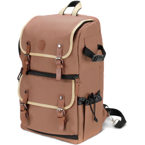 GOgroove DSLR Camera Backpack (Tan)