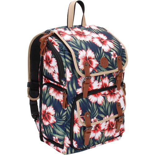 GOgroove DSLR Camera Backpack (Tropical)
