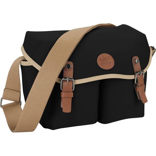 GOgroove DSLR Messenger Style Camera Bag (Black)
