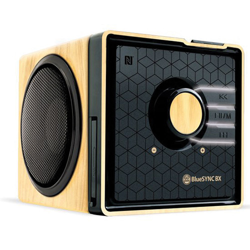 GOgroove BlueSYNC BX Portable Bluetooth Speaker (Wood)