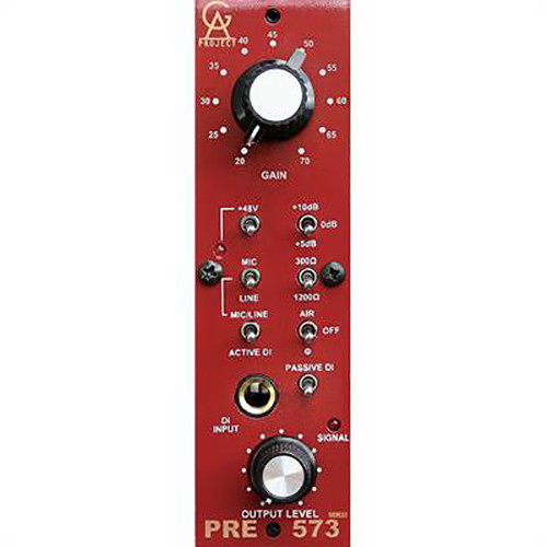 Golden Age Project PRE-573 MKII Plus - 500 Series 1073-Style Microphone Preamp