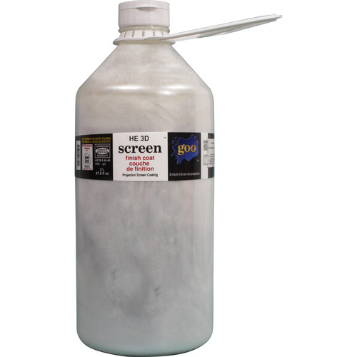 Goo Systems High Extinction 3D Finish Coat Screen Goo (0.5 Gal Bottle)