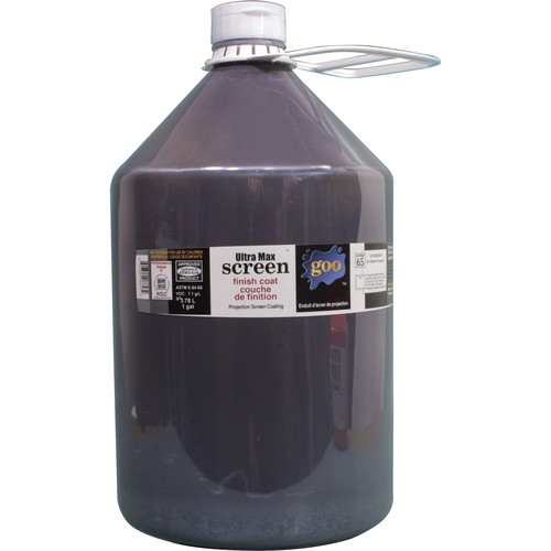 Goo Systems Ultra Max Contrast Finish Coat Screen Goo (1 Gal Bottle)