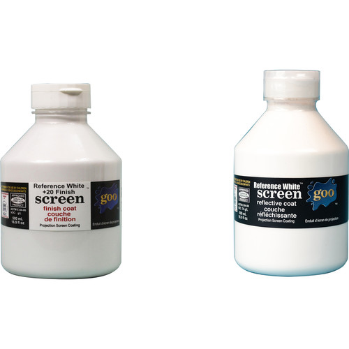 Goo Systems Reference White +20 Screen Goo Set (Pair of 16.9 fl. oz Bottles)