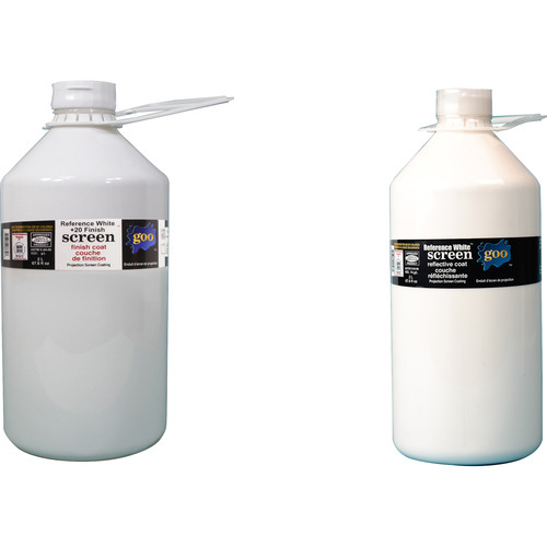 Goo Systems Reference White +20 Screen Goo Set (Pair of 0.5 Gal Bottles)