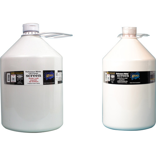 Goo Systems Reference White +20 Screen Goo Set (Pair of 1 Gal Bottles)