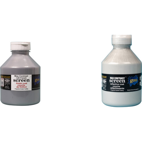 Goo Systems Max Contrast +20 Screen Goo Set (Pair of 16.9 fl. oz Bottles)